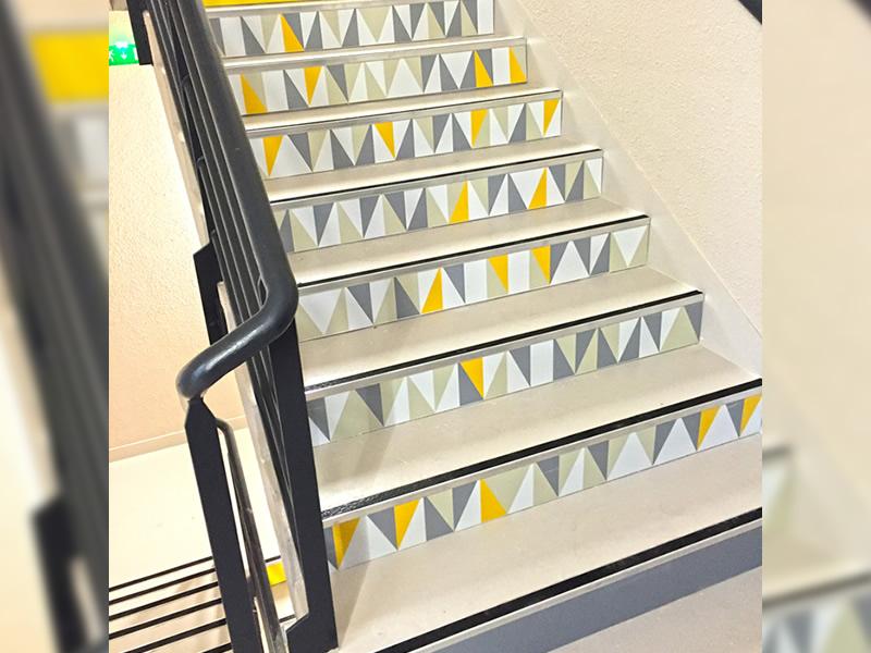 Habillage d'un escalier