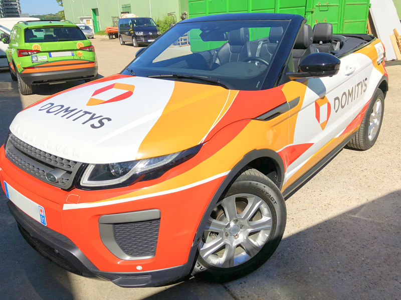 Total covering Range Rover Evoque